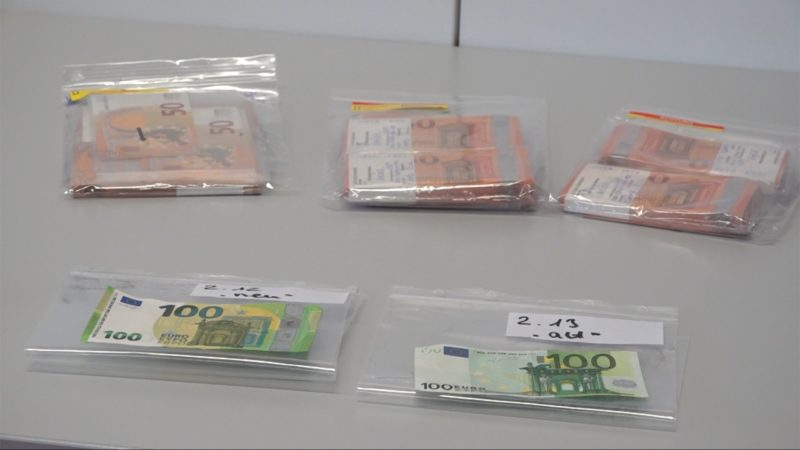Falschgeld-Razzien in NRW (Foto: SAT.1 NRW)