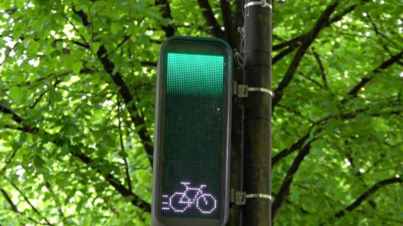 Grüne Welle für Fahrradfahrer (Foto: SAT.1 NRW)