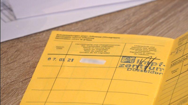 Immer mehr Impfpass-Fälschungen (Foto: SAT.1 NRW)