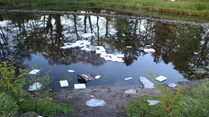 Diebe versenken iPads in See (Foto: SAT.1 NRW)