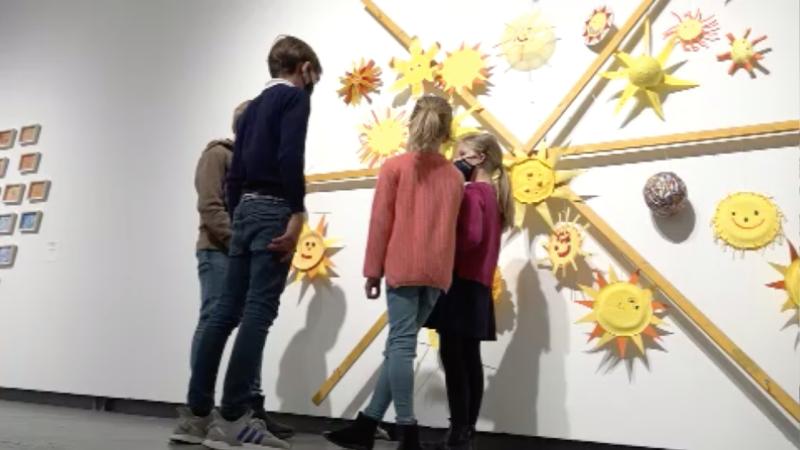 Kinderausstellung in Düsseldorf (Foto: SAT.1 NRW)