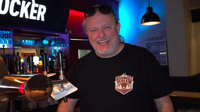 Markus Krebs eröffnet eigene Kneipe (Foto: SAT.1 NRW)