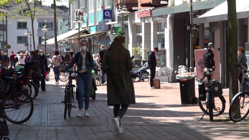 Shoppen ohne Test und Termin (Foto: SAT.1 NRW)