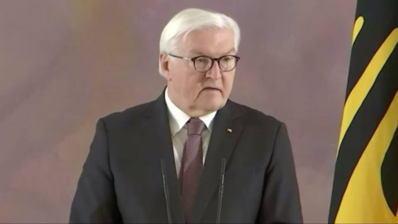 Bundespräsident Steinmeier will zweite Amtszeit antreten (Foto: SAT.1 NRW)
