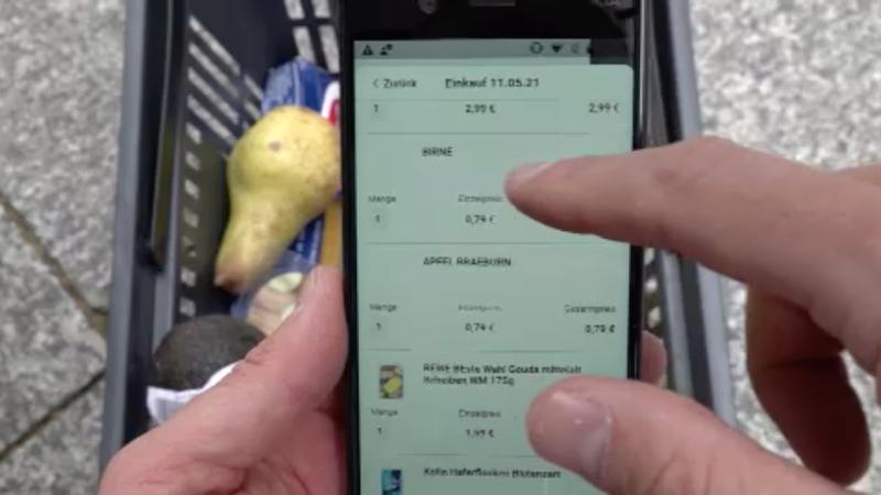 Supermarkt ohne Kassen (Foto: SAT.1 NRW)