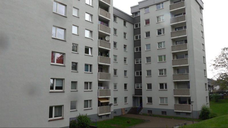 Indische Mutante: Zwei Hochhäuser in Quarantäne (Foto: SAT.1 NRW)