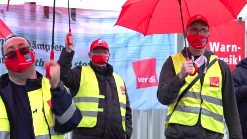 Verdi fordert: Mehr Lohn für Supermarkt-Mitarbeiter (Foto: SAT.1 NRW)