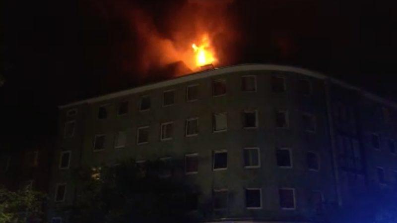 Feuer-Alarm in der Nacht (Foto: SAT.1 NRW)