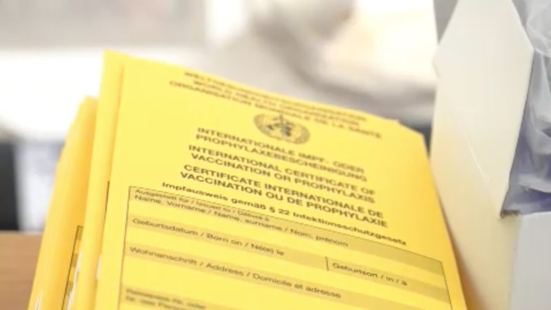 300 Impfpässe gestohlen (Foto: SAT.1 NRW)