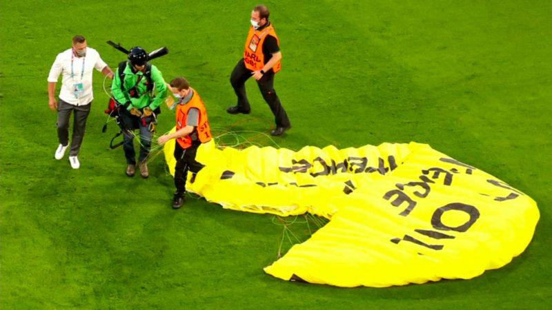 Umwelt-Proteste werden immer extremer (Foto: SAT.1 NRW)