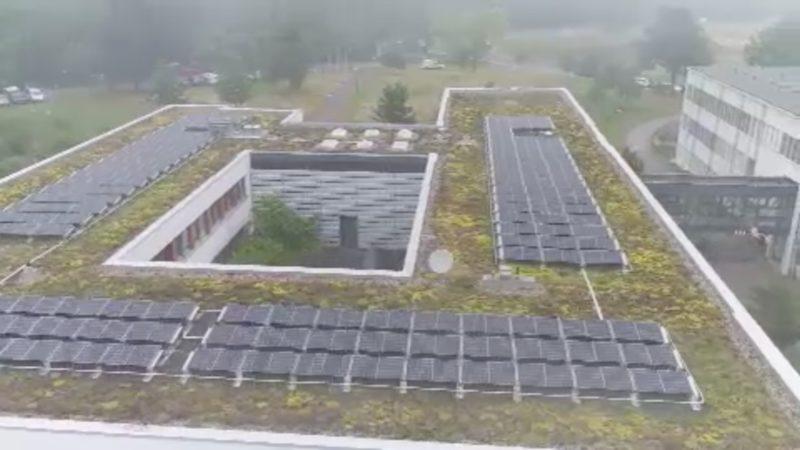 Grünes Dach für Lanuv-Gebäude (Foto: SAT.1 NRW)