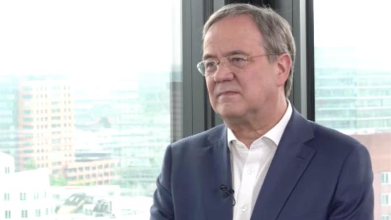 Sommerinterview mit NRW-Ministerpäsident Armin Laschet (Teil 1) (Foto: SAT.1 NRW)