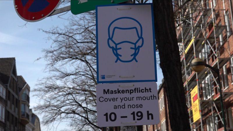 Keine Maskenpflicht im Freien mehr (Foto: SAT.1 NRW)