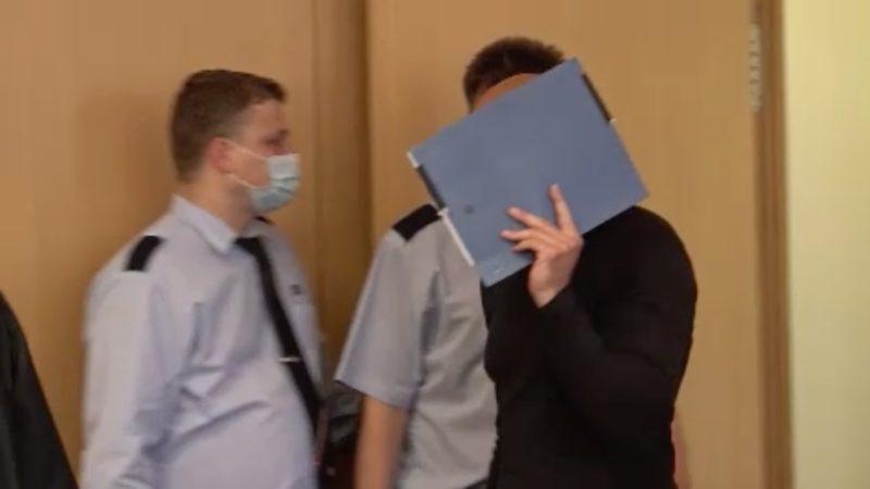 Düsseldorfer wegen versuchten Mordes vor Gericht (Foto: SAT.1 NRW)
