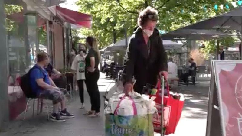 Obdachlosen Hilfe (Foto: SAT.1 NRW)