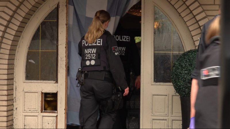 Razzia gegen Clan-Kriminalität in NRW (Foto: SAT.1 NRW)