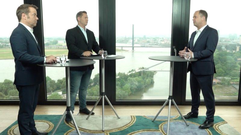 Sommerinterview mit NRW-Familienminister Joachim Stamp (FDP) (Foto: SAT.1 NRW)