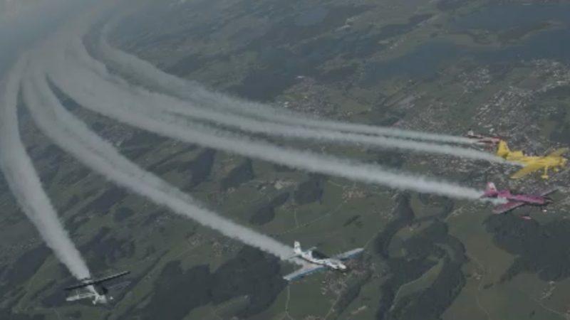 Grüße aus der Luft (Foto: SAT.1 NRW)