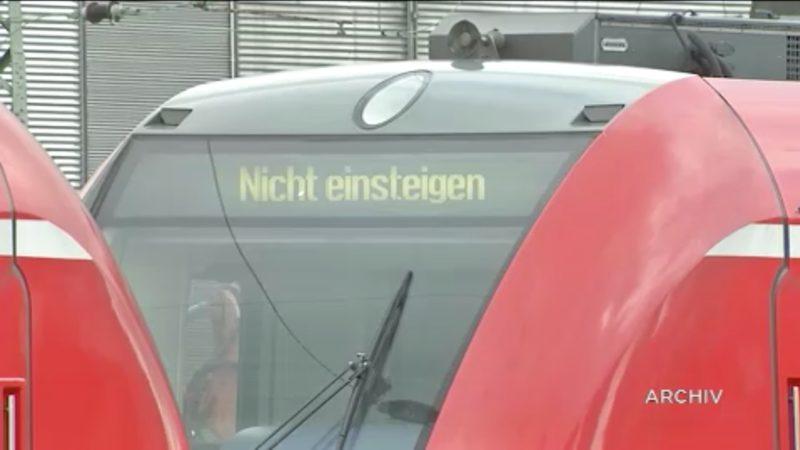 Lokführer wollen streiken (Foto: SAT.1 NRW)