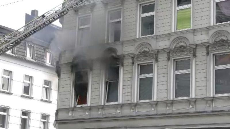 Explosion in Mehrfamilienhaus (Foto: SAT.1 NRW)