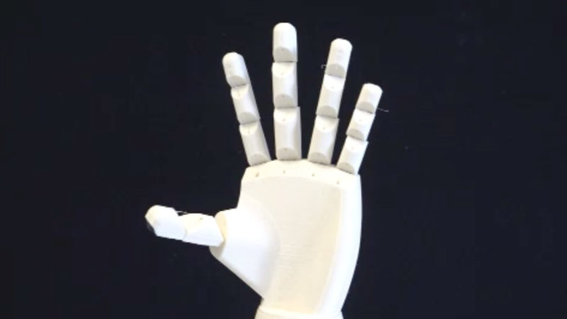 Schüler entwickeln Roboter-Hand (Foto: SAT.1 NRW)