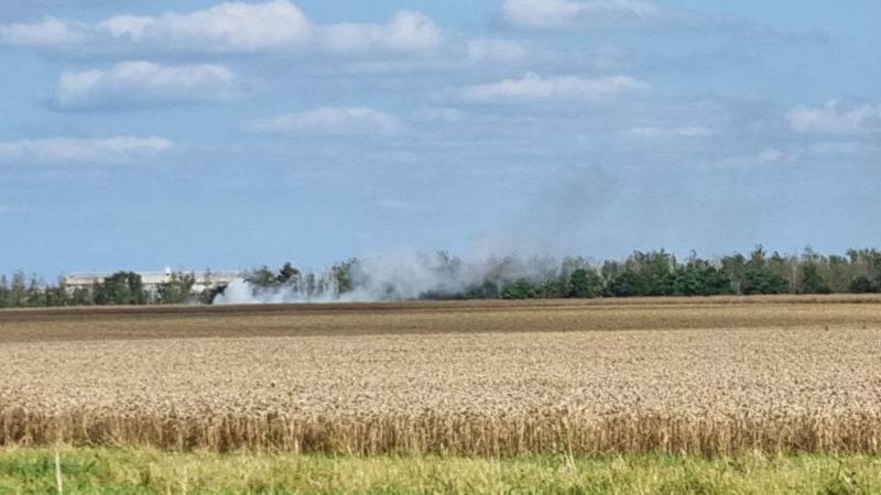 Flugzeugabsturz: vier Tote (Foto: SAT.1 NRW)
