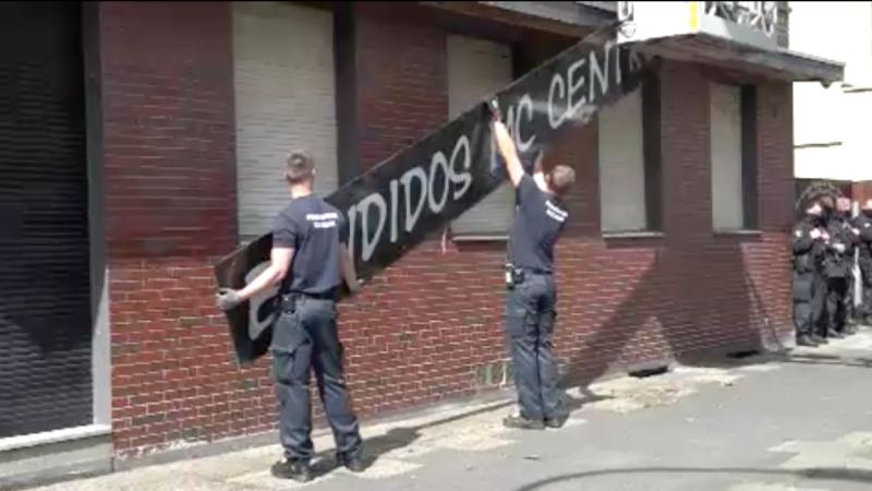 Razzien gegen NRW-Bandidos (Foto: SAT.1 NRW)