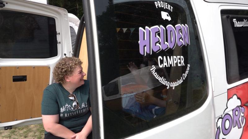Camper für Krebspatienten (Foto: SAT.1 NRW)
