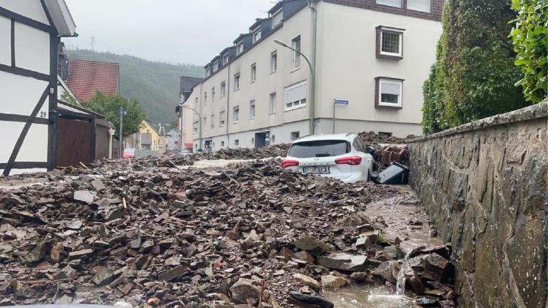 So ist die aktuelle Lage in Hagen (Foto: SAT.1 NRW)