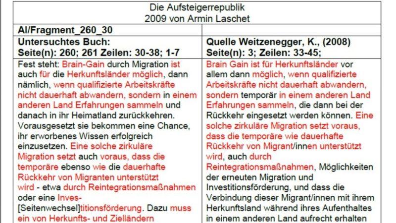 Studio-Talk: Plagiatsvorwürfe gegen Armin Laschet (Foto: SAT.1 NRW)