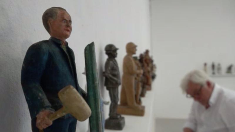 """""""Männerausstellung"""" im Frauenmuseum (Foto: SAT.1 NRW)"""