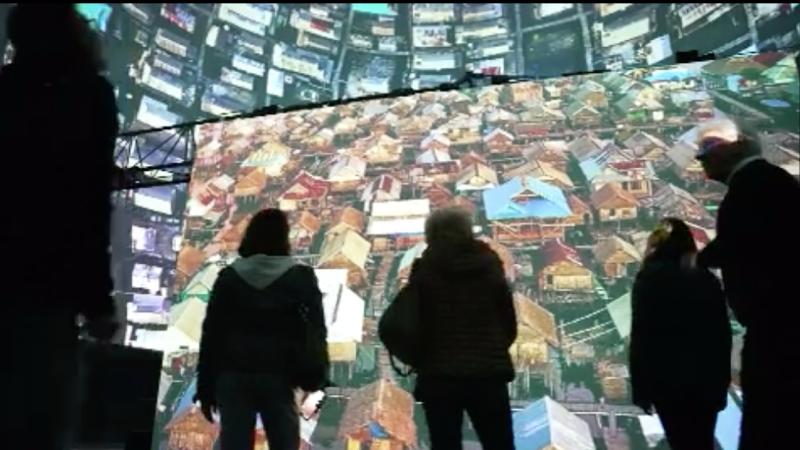 Größte 3D-Leinwand Europas in Wuppertal (Foto: SAT.1 NRW)