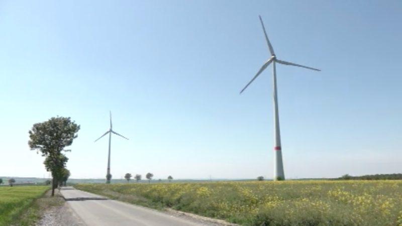 Windräder abgeschaltet (Foto: SAT.1 NRW)