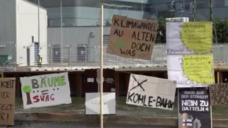 OVG stoppt Kraftwerk Datteln (Foto: SAT.1 NRW)