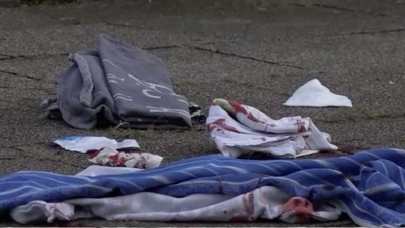Bluttat auf offener Straße (Foto: SAT.1 NRW)