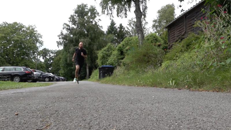 Halbmarathon nach Amputation (Foto: SAT.1 NRW)