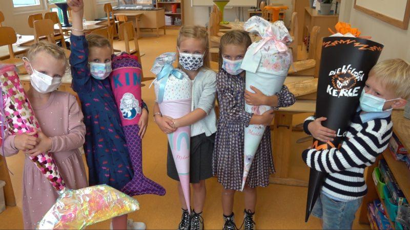 Erster Schultag in NRW (Foto: SAT.1 NRW)
