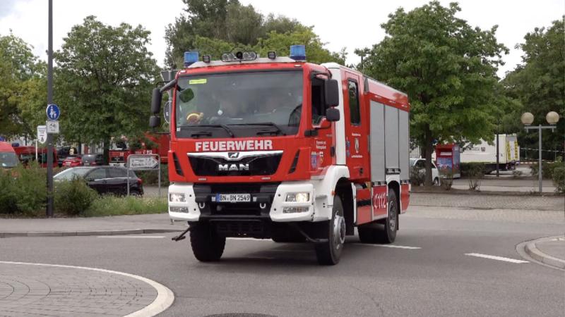 NRW-Feuerwehr hilft Griechenland (Foto: SAT.1 NRW)