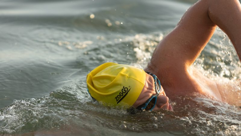 Paderborner schwimmt nach Helgoland (Foto: SAT.1 NRW)