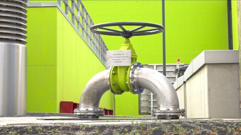 Schmutzwasserpumpwerk geht an den Start (Foto: SAT.1 NRW)