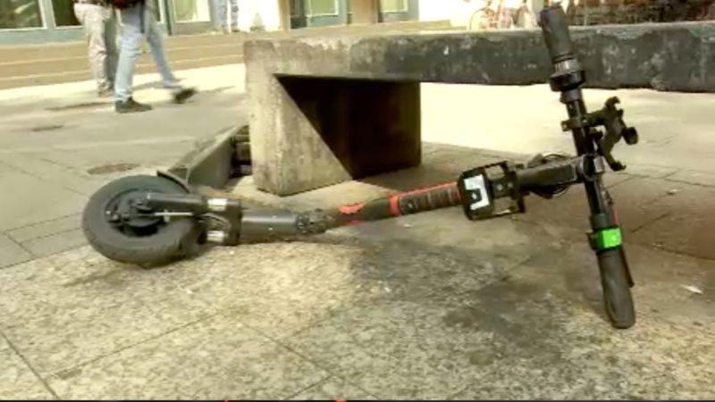 E-Scooter haben sich ausgerollt (Foto: SAT.1 NRW)