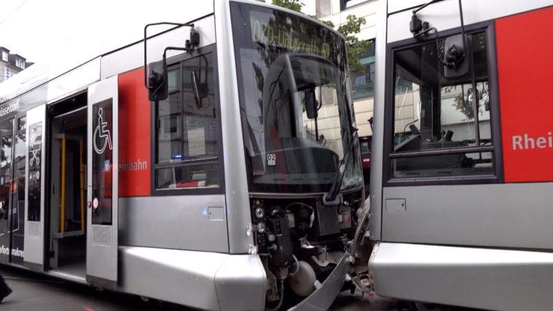 Bahn-Crash: Viele Verletzte (Foto: SAT.1 NRW)