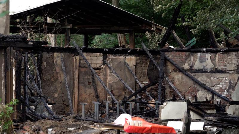 Geschichte in Flammen (Foto: SAT.1 NRW)