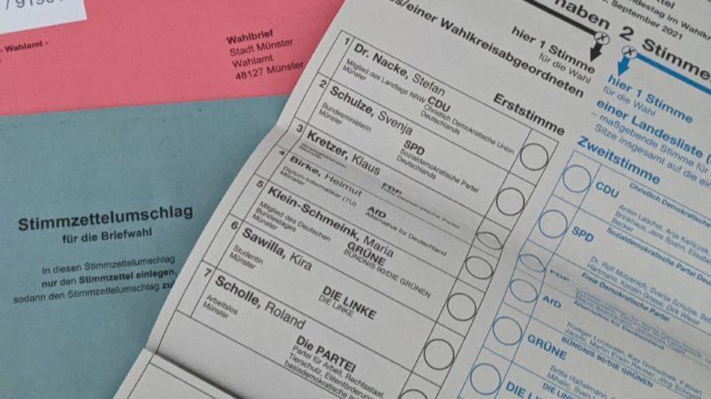 Stichtag bei Briefwahl (Foto: SAT.1 NRW)