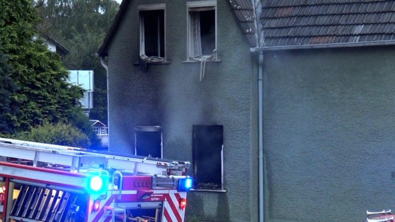 Feuerdrama in Fröndenberg (Foto: SAT.1 NRW)