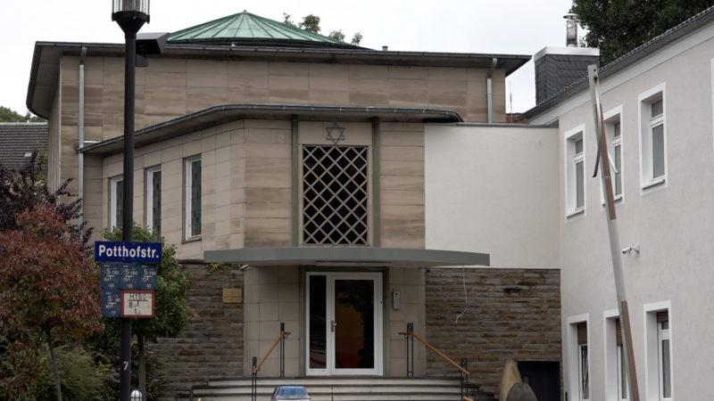 Terrorverdacht: Synagogen in Angst (Foto: SAT.1 NRW)
