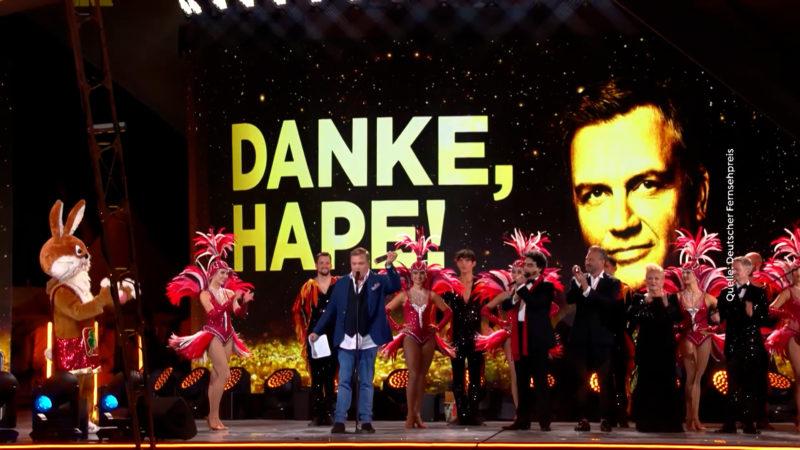 Fernsehpreis für Hape Kerkeling (Foto: SAT.1 NRW)