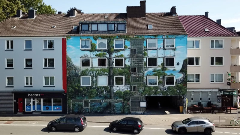 Dortmunds schönste Hausfassade (Foto: SAT.1 NRW)