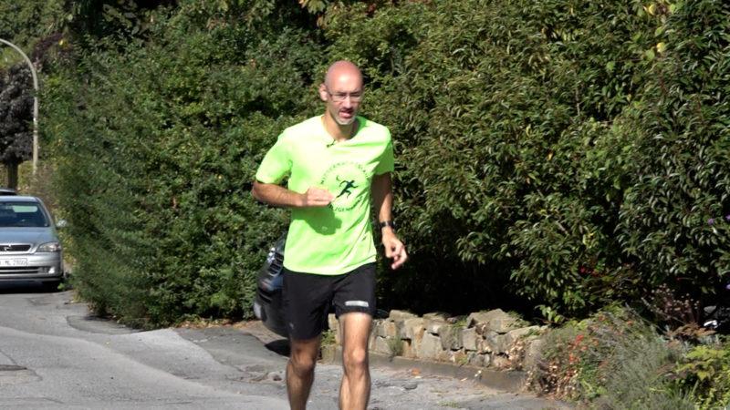 Jogger mit großem Ziel (Foto: SAT.1 NRW)