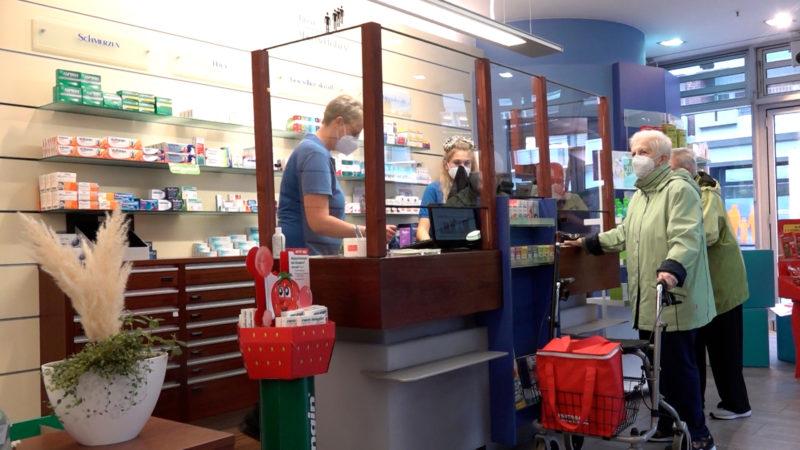 Grippe-Impfungen in Apotheken (Foto: SAT.1 NRW)